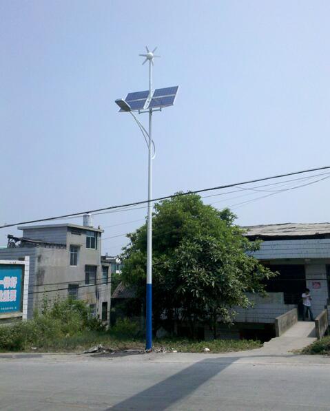 2015家湖南湘西风光互补路灯10米