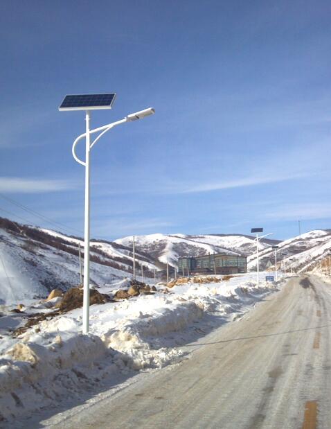 张家口太阳能路灯安装