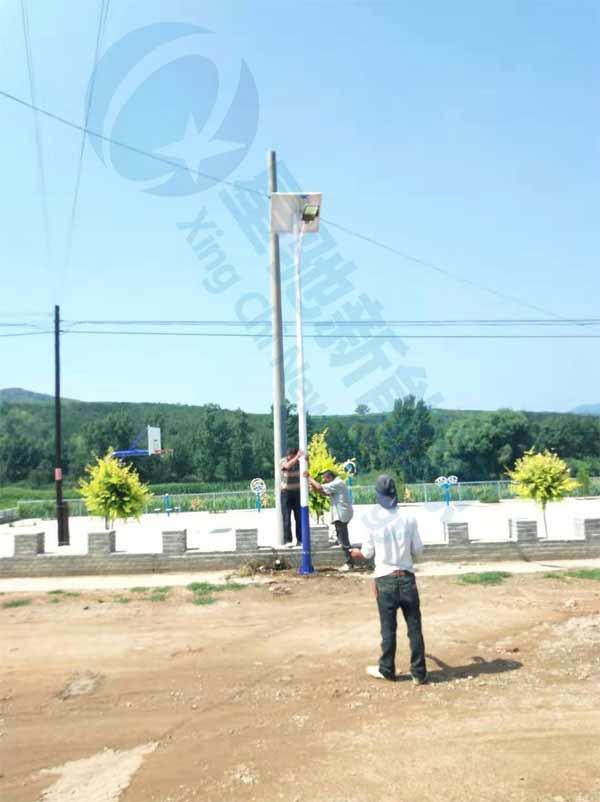 承德6米30w太阳能路灯