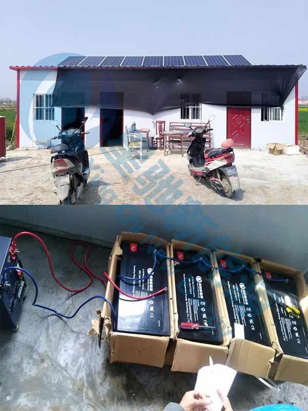 安徽鱼塘离网发电系统