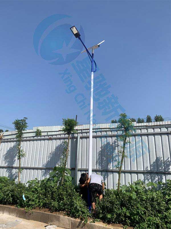 唐县厂区6米太阳能路灯