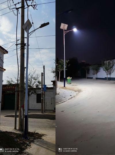 沧州6米太阳能路灯