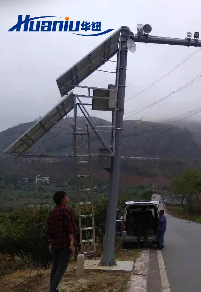 云南交通太阳能监控系统