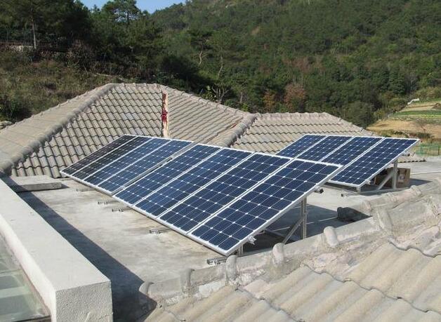 光伏太阳能发电安装