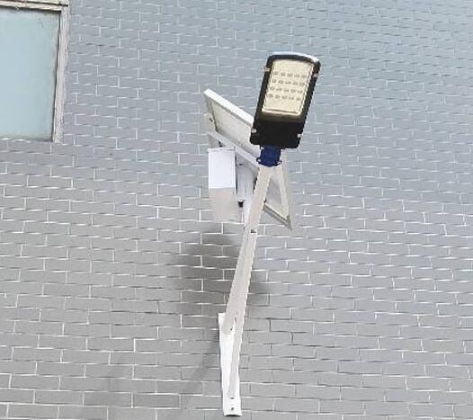 太阳能挂壁路灯