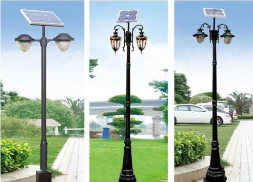 太阳能路灯灯杆