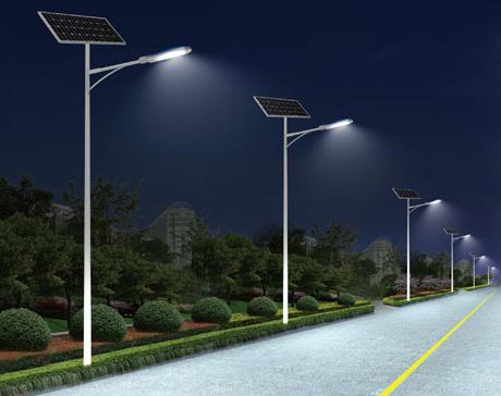 农村太阳能路灯多少瓦