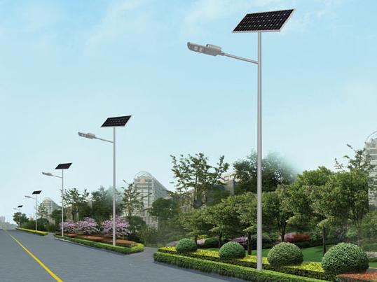 一般太阳能路灯安装距离多少米