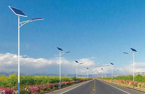 安装太阳能路灯