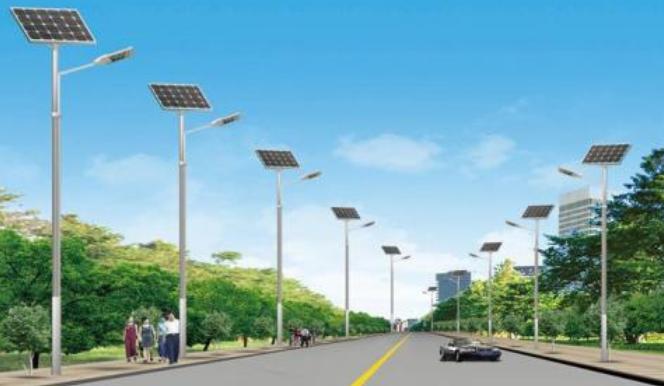 单臂太阳能路灯灯杆价格