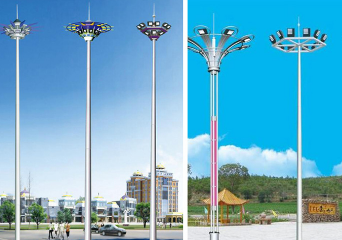 高杆灯适合做成太阳能路灯吗