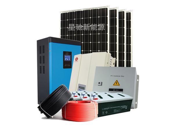 小型离网光伏发电系统配置价格如何