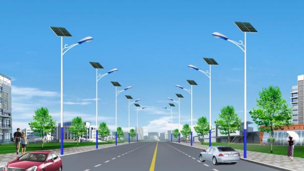 太阳能路灯7米60w价格多少