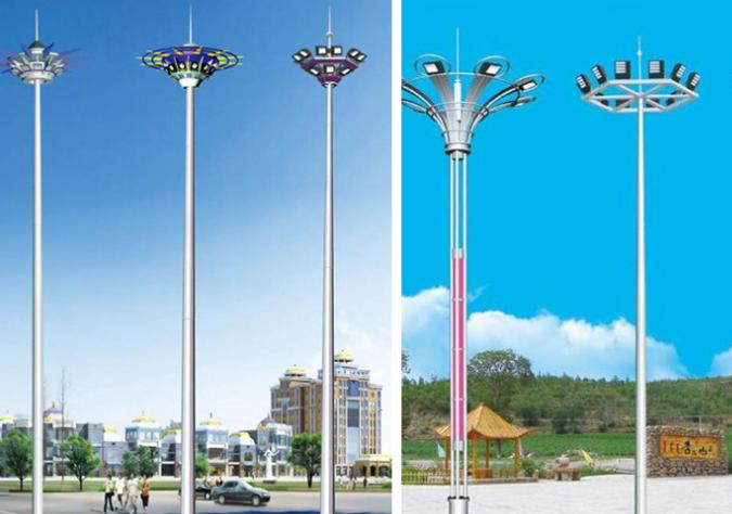 高杆灯安装施工方案/教程