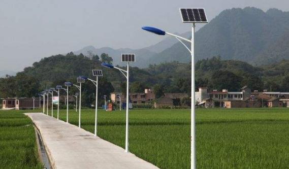 7米太阳能路灯灯杆