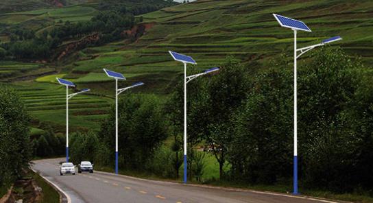 LED太阳能路灯的规格型号
