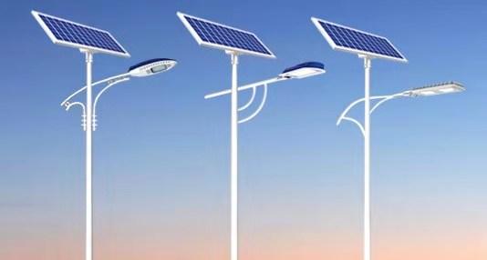 常见规格型号的太阳能路灯配置清单