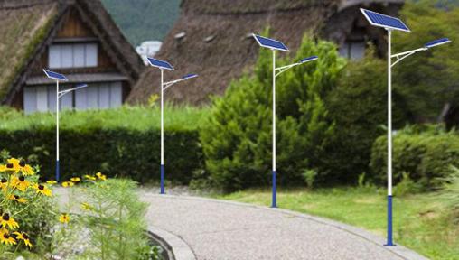太阳能灯跟耗电的哪个划算