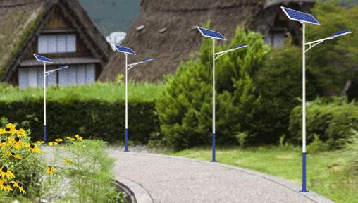 3米太阳能路灯杆