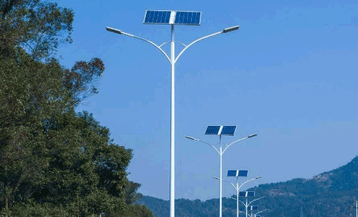 五米杆太阳能路灯