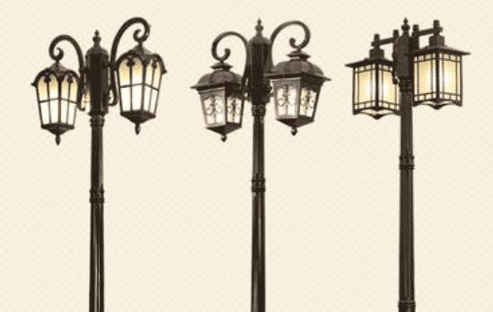 小区3米路灯