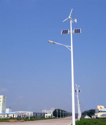 风光互补太阳能路灯