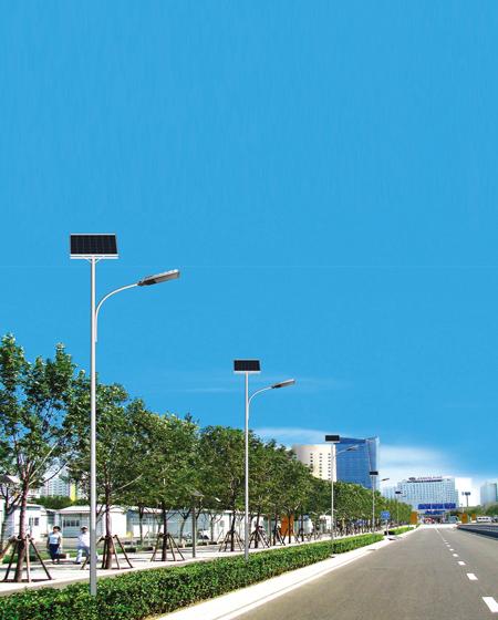 工矿企业厂区太阳能照明灯