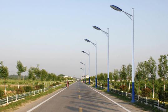 9米50瓦农村太阳能路灯规格参数表
