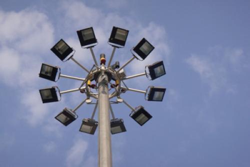 15米8火广场广场高杆灯