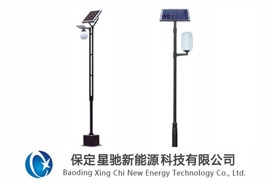 5米太阳能庭院灯