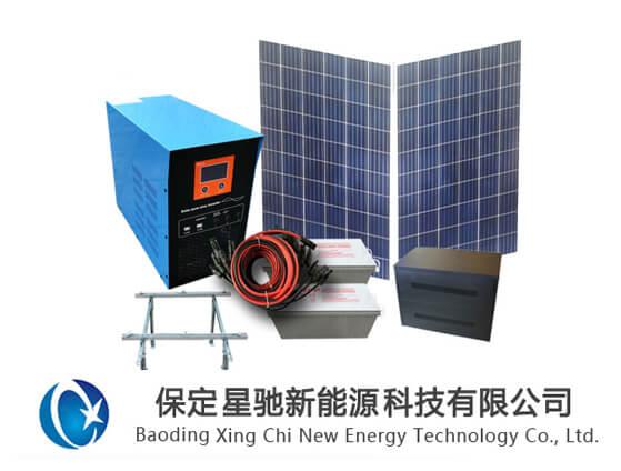 三干瓦太阳能离网发电系统
