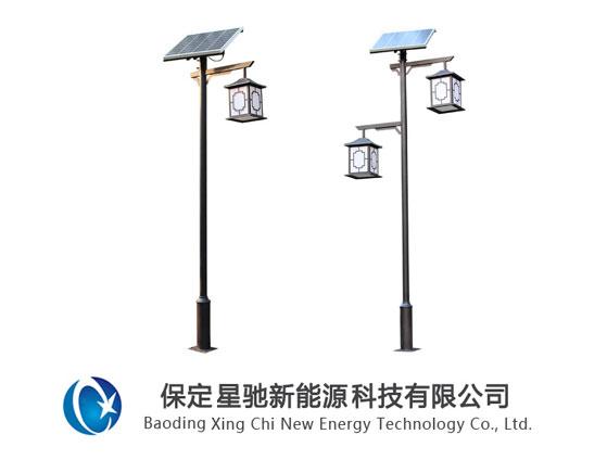3米太阳能庭院灯